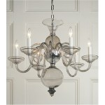 Crowder Designs Smoked Chandelier Collection | 6 Arm