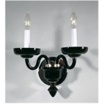 Crowder Designs Clear Sconce Collection   2 Arm