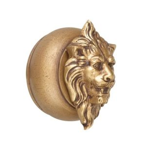 Crowder Designs End Cap | Ram or Lion Head on Plain End Cap