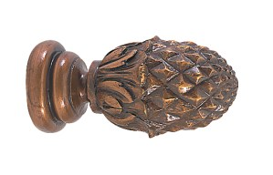 Crowder Designs Classic Finial Collection   Pineapple