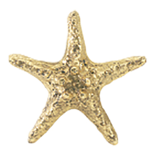 Crowder Designs Decorative Drapery Bracket Collection | Starfish