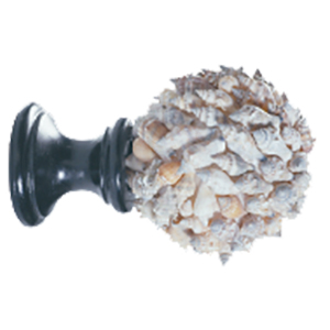 Crowder Designs Natural Elements Finial Collection | Sikad Shell