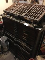 Hamilton type cabinet