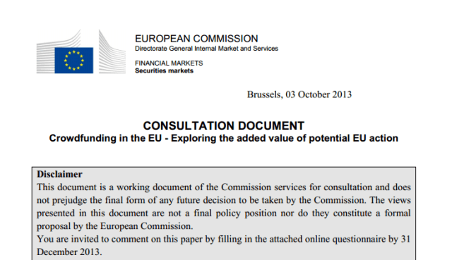 crowdfunding european comission 2