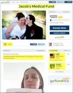 Meggan McArdle Jacob's Medical Fund
