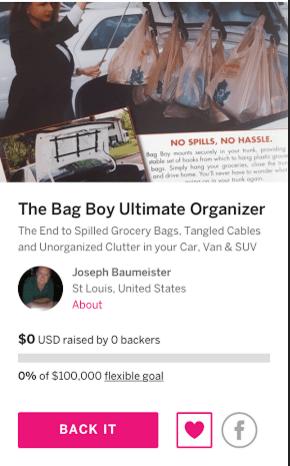 The Bag Boy Ultimate Organizer & Bag Handler