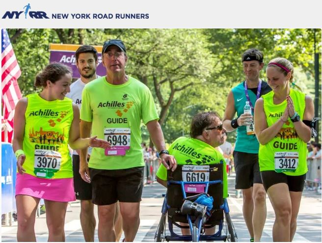 Run the 2020 United Airlines NYC Half for Achilles International Rick Ortiz 2