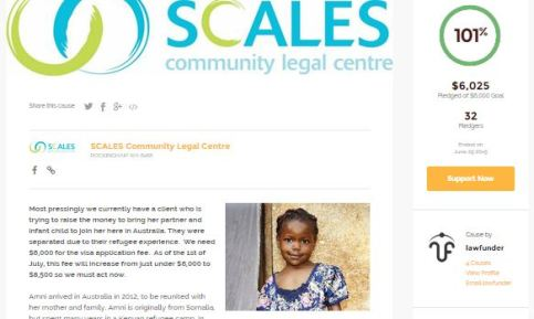 Le Crowdfunding justice pour Amni