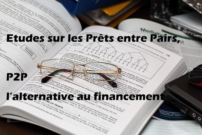 Les prêts entre pairs, l'alternative au financement