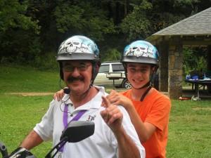 Richard and Declan