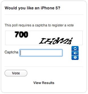 js enter captcha crowdsignal