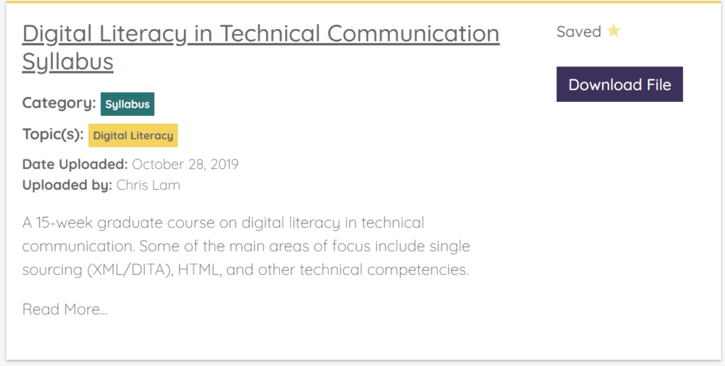 Crowdsourcing technical and professional communication