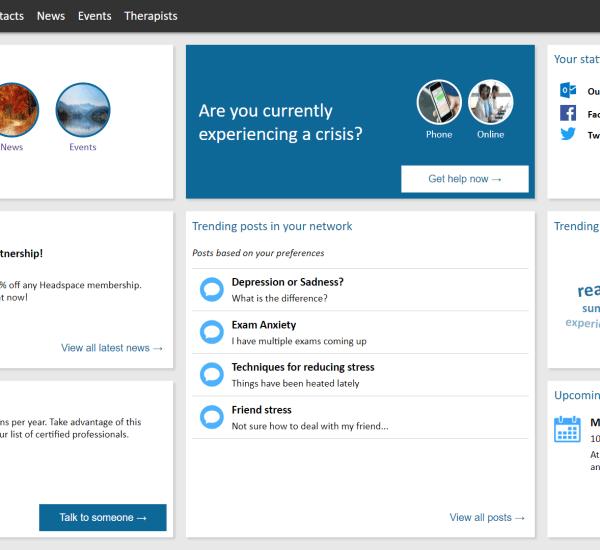 Microsoft Mental Health Platform