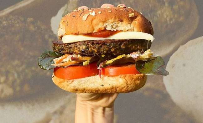 A kelp burger exemplifies the impact of crowdfunding for agriculture