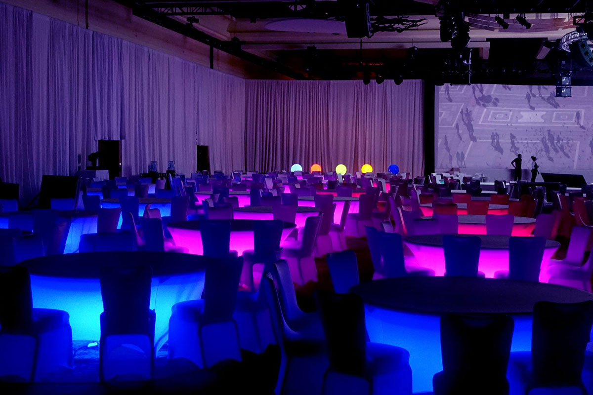 CrowdSync Technology  Event Lighting and Decor For Your Venue