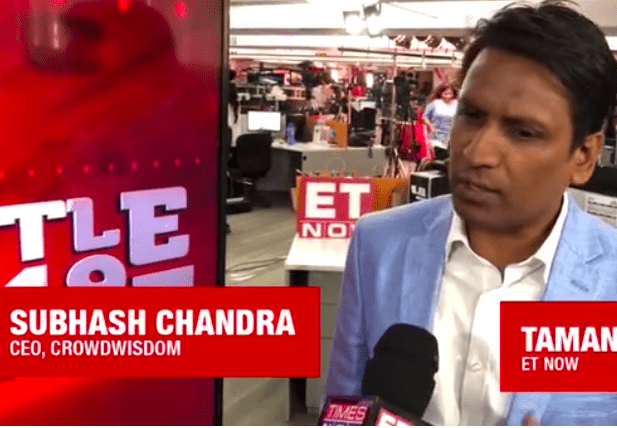 CrowdWisdom360 CEO on ET Now Exit Poll day