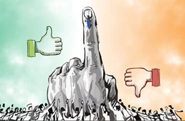 High Voting Percentage is Advantage BJP ?