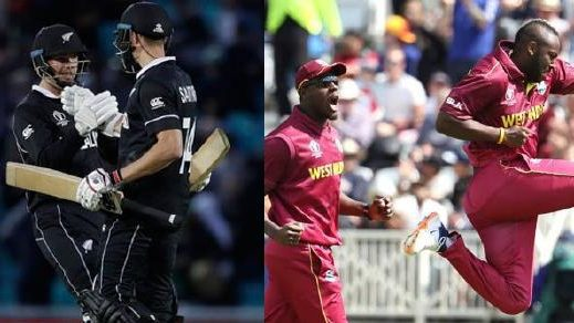 WI vs NZ Live :  Battle for the final semi-final Spot