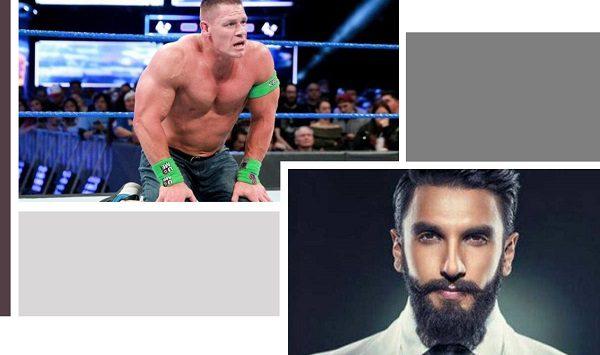 Bromance of Ranveer and John Cena, Ranveer Singh is now Stone Cold Singh