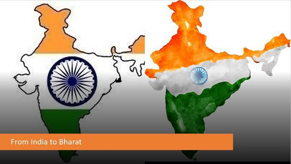 It is Bharat, Not India ?