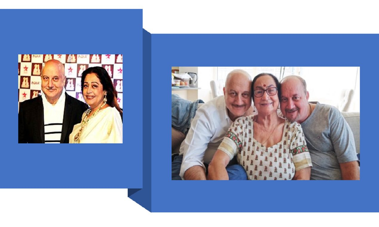 Anupam Kher's Family is Corona Positive