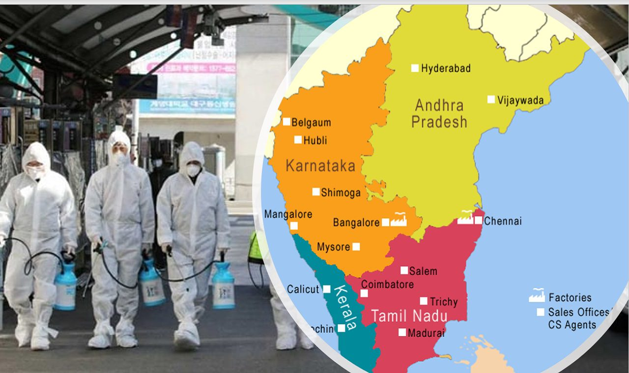 Coronavirus in India : The Fall of South Indian States