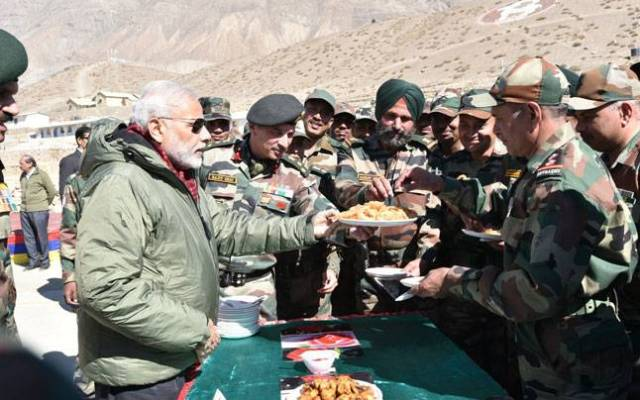 PM Modi in Leh
