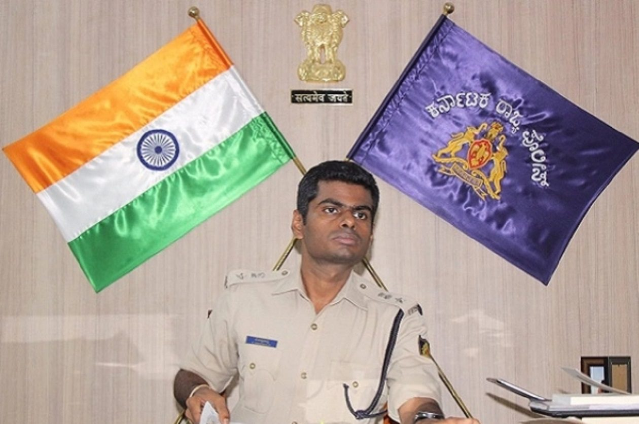 Former IPS Officer K Annamalai to Join BJP