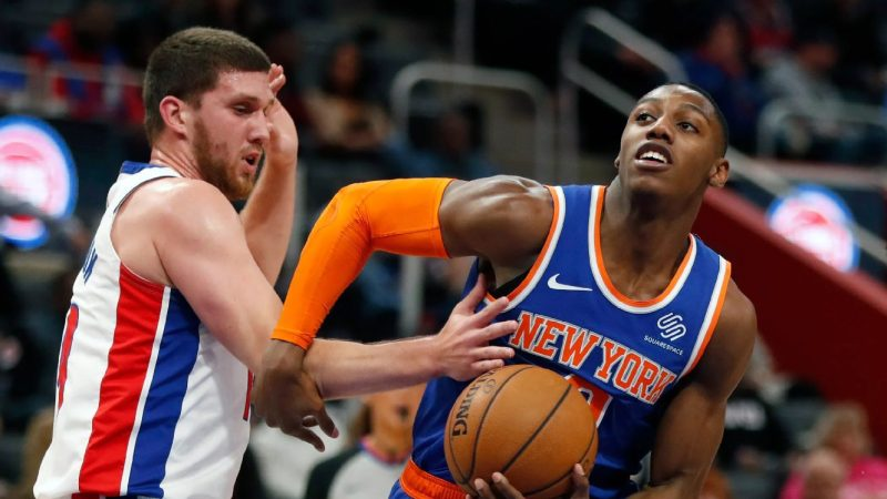 New York Knicks vs Detroit Pistons NBA Odds and Predictions