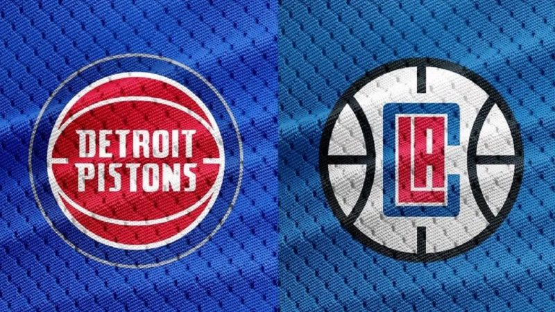 Detroit Pistons vs Los Angeles Clippers NBA Odds and Predictions