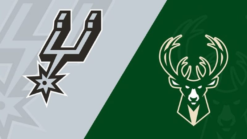 Milwaukee Bucks vs San Antonio Spurs NBA Odds and Predictions