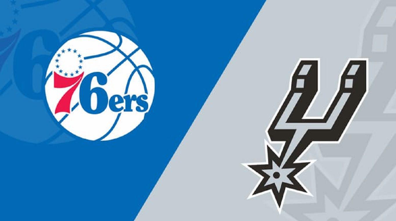 Philadelphia 76ers vs San Antonio Spurs NBA Odds and Predictions