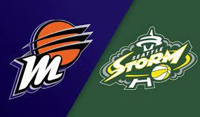 Phoenix Mercury vs Seattle Storm Odds and Predictions