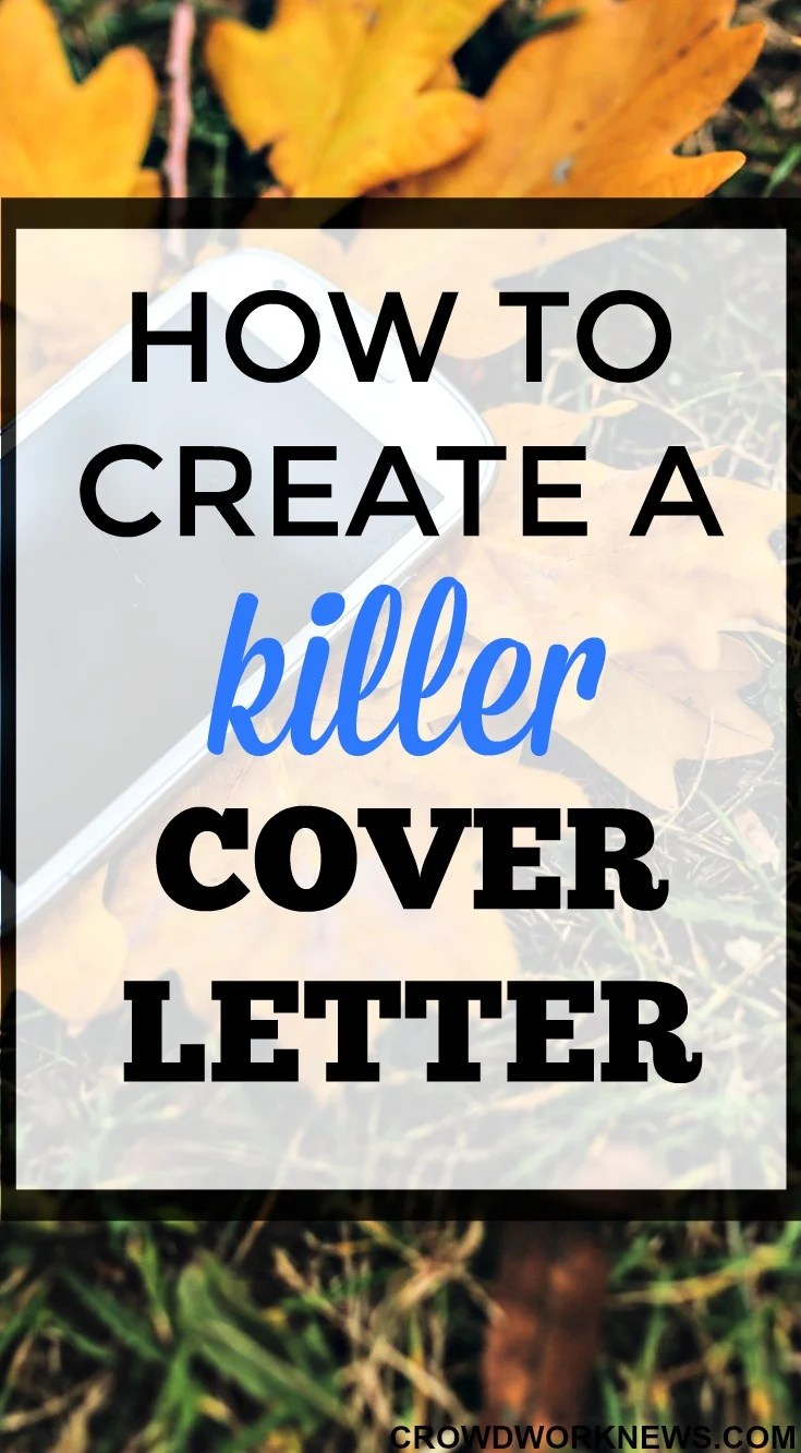 How to Create a Killer Cover Letter Format to Land Your Online Job
