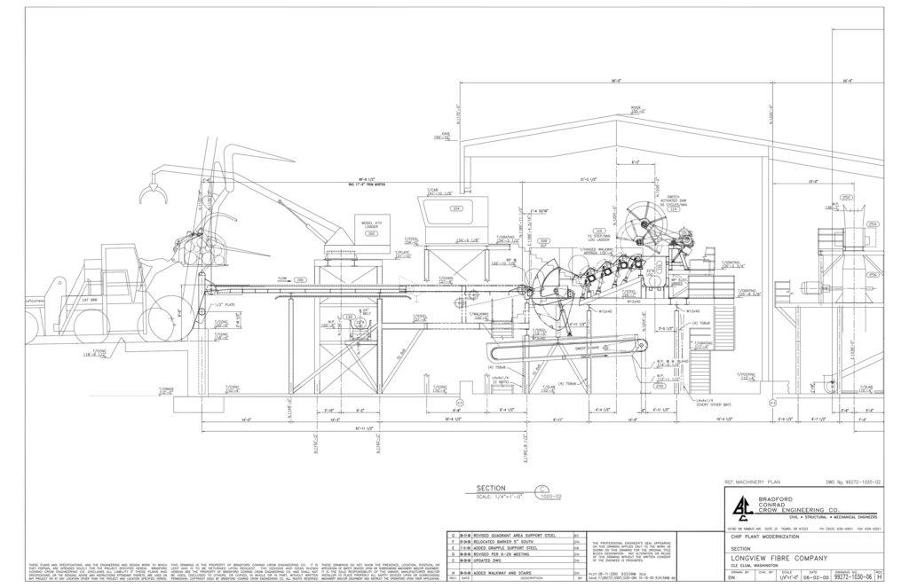 Longview Fiber Company Wood Project & Structural