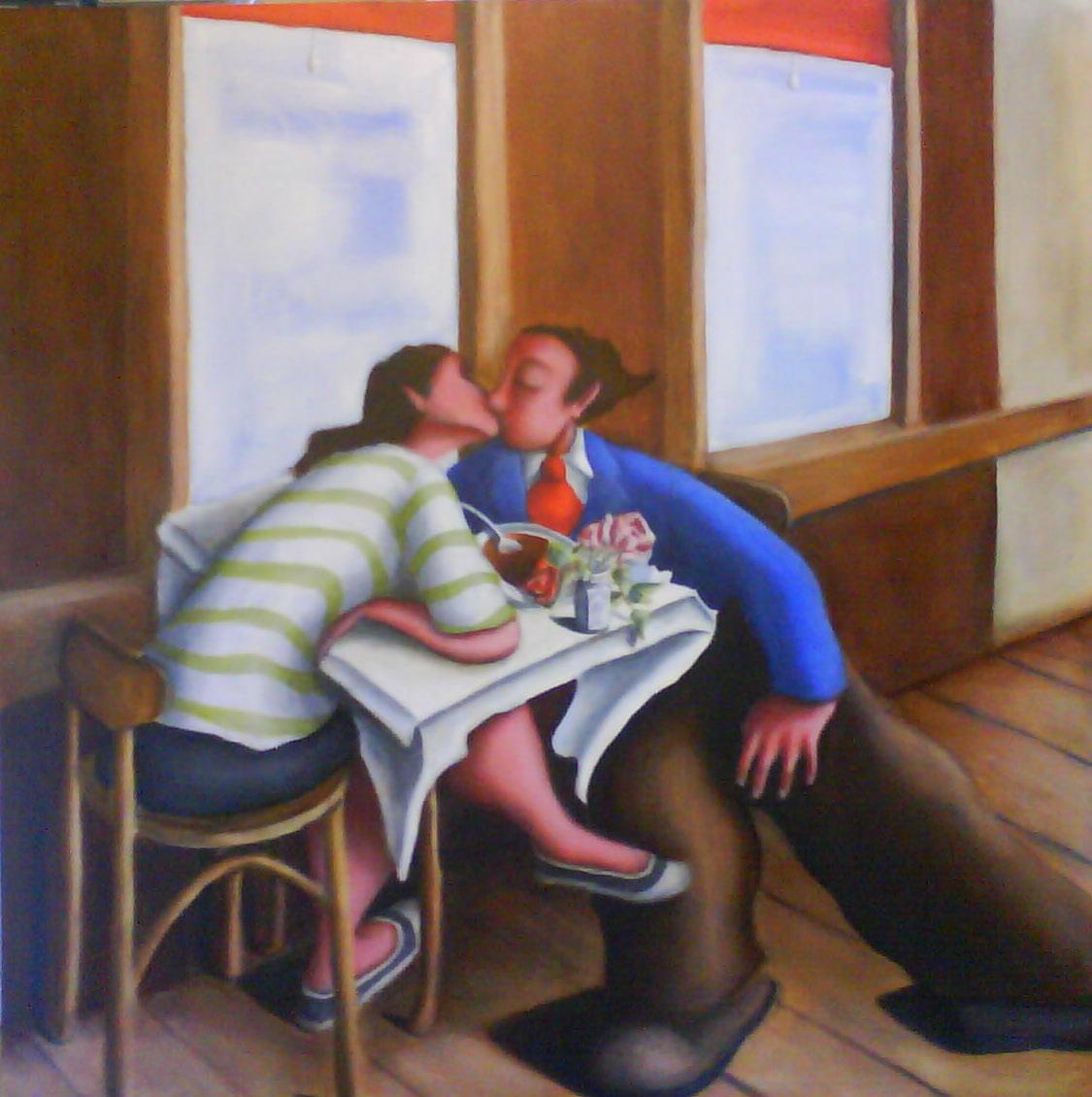 'Kissing'