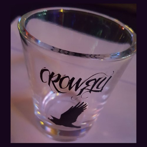 Crowfly Shot Glass