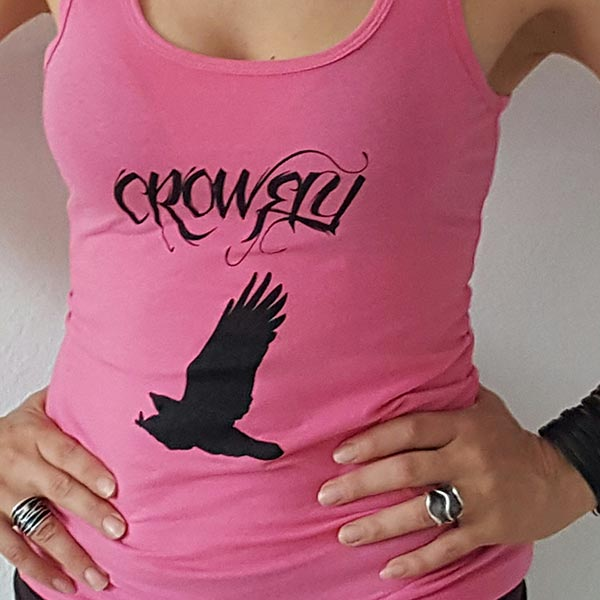 Crowfly Women's Pink Tank Top