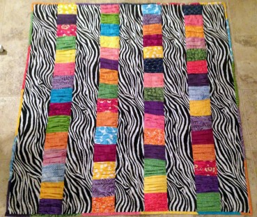 Crinkle Quilt Front