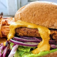 Lentil Veggie Burger