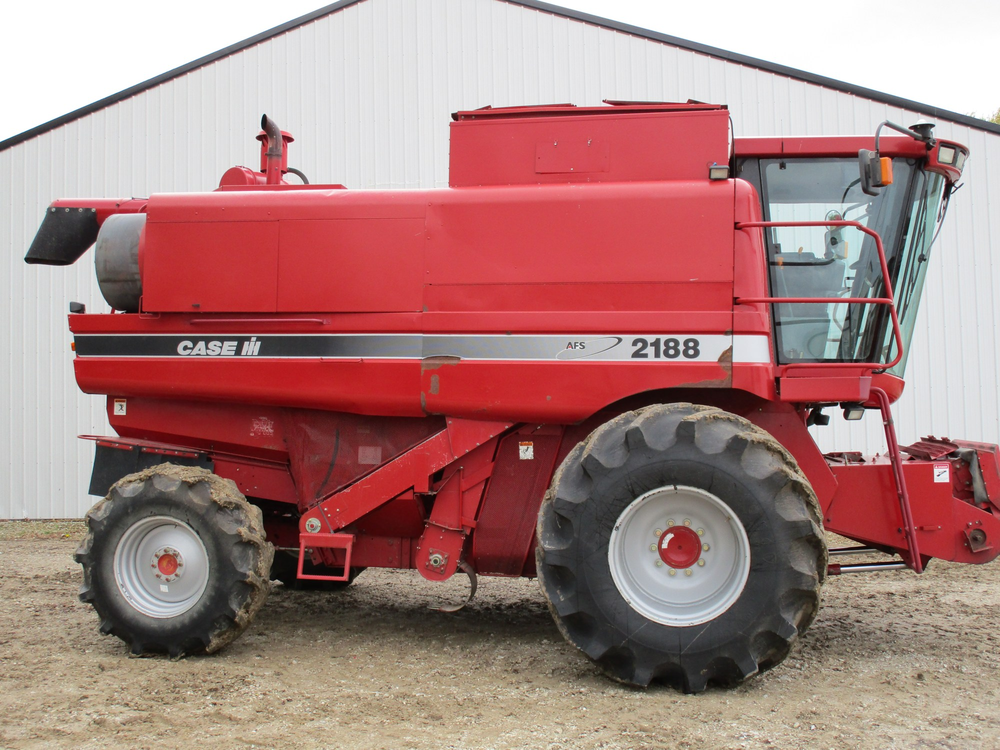 hight resolution of used 1996 case ih 2188 combine