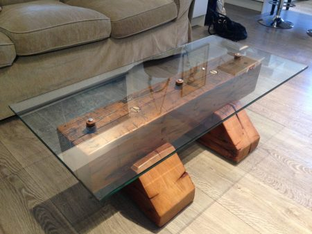 Reclaimed coffee table