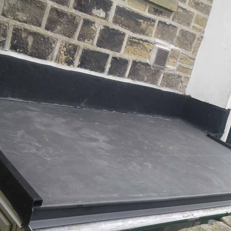 Rubber Flat Roofing by Crown Building and Roofing Services