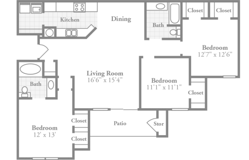 small resolution of room dimensions