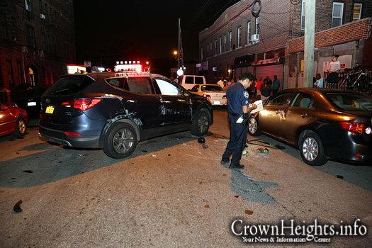 Speeding SUV Crash