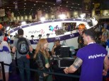 "The SyFy Channel ""Fan Cam"" - a 360 degree camera rig, giving fans and cosplayers the chance to have a clever moving snapshot of them in mid-air; or other poses!"