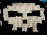 The larger Tunisian Pixel squares (4 x 2).
