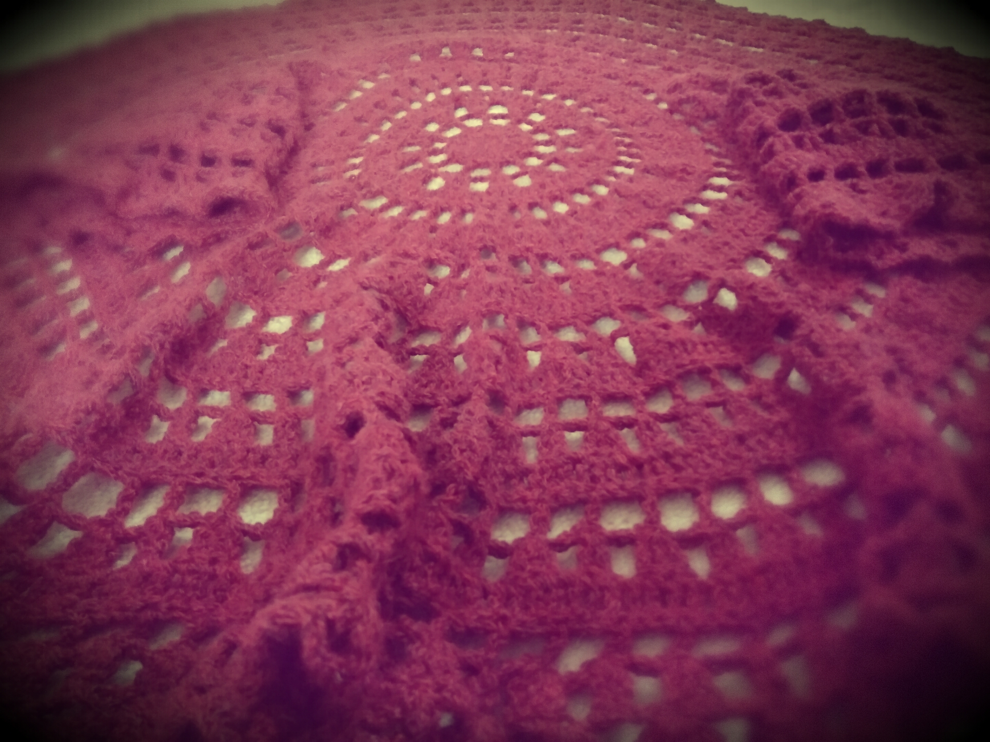 Circular Cardigan Crochet Project