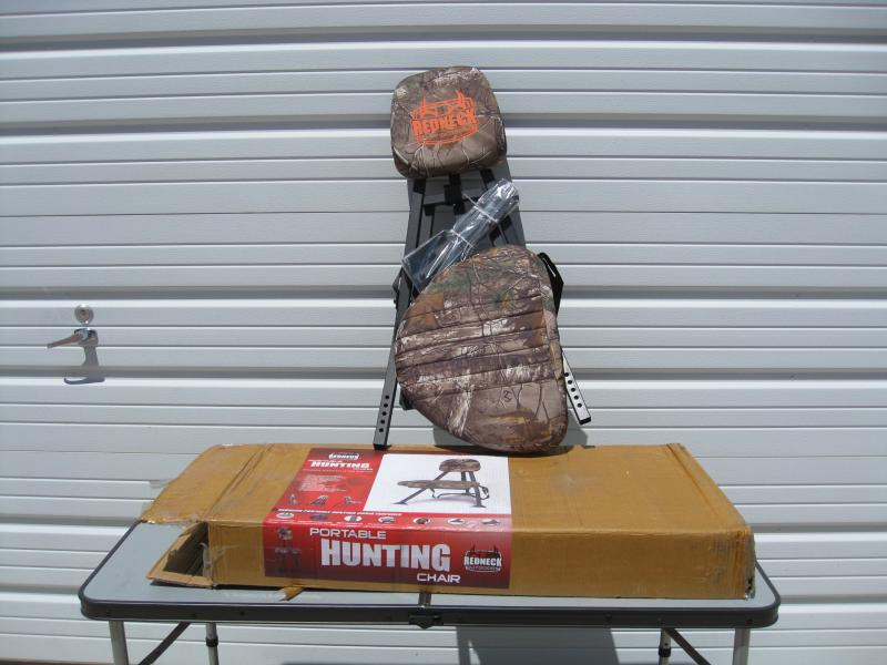 portable hunting chair blue wingback with ottoman redneck outdoors northeast crown liquidators