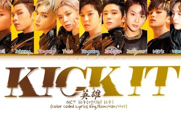 NCT 127 – 영웅 (英雄; Kick It) Lyrics